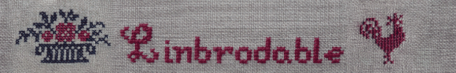 broderie au point de croix